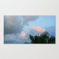 Hawaii Clouds Canvas Print