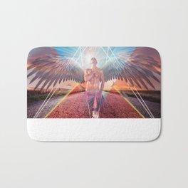 the angel  Bath Mat