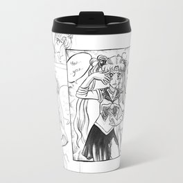 Sailor Moon Will Not Be Defeated Travel Mug