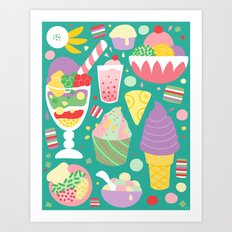 Sweets of Southeast Asia Art Print