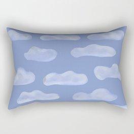 Fluffy Clouds Rectangular Pillow