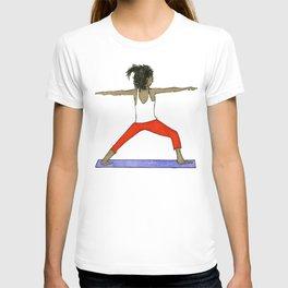 Yoga Folks - Warrior.   T-shirt
