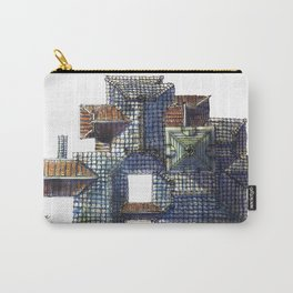 Taiwanese roofscapes 01(colored) Carry-All Pouch