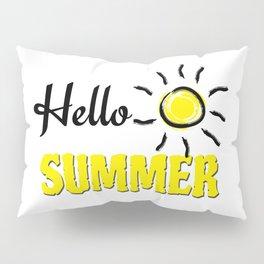 Hello summer Pillow Sham