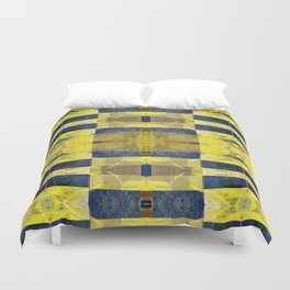 first sunrays_pattern_no2 Duvet Cover