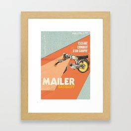 Mailer Barbary Framed Art Print