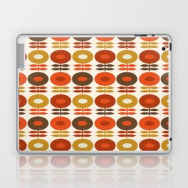 Primo - 70s style retro florals minimal 1970s trend flower Laptop & iPad Skin
