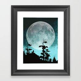 When Night Falls Framed Art Print