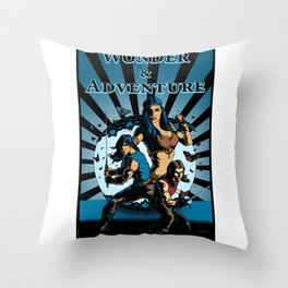 Wonder And Adventure: Dream Tower Media, Rogues of Merth Throw Pillow