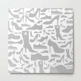 Footwear a background Metal Print
