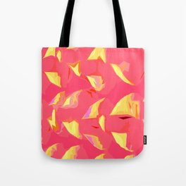 Illusion pink yoga mats/ yoga room Tote Bag