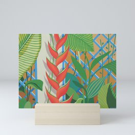 HELICONIA FLOWERS Mini Art Print
