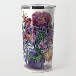 Steep In Beauty Travel Mug