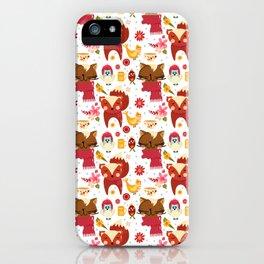 HAPPY ANIMALS iPhone Case