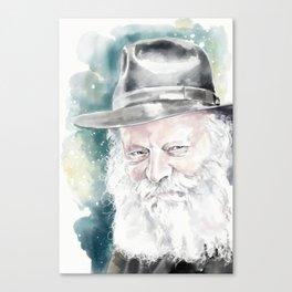 The Rebbe Canvas Print