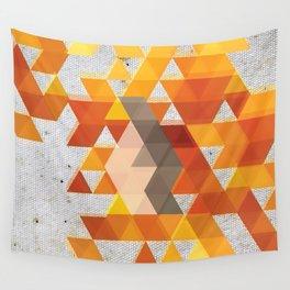 Geometric Penguin Wall Tapestry