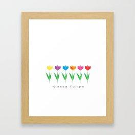 Tulips KT Framed Art Print