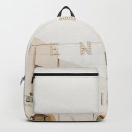 Downtown Venice California Backpack