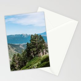 Treeline in the French Pyrénées Stationery Cards