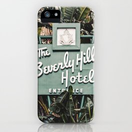The Beverly Hills Hotel - Vertical iPhone Case