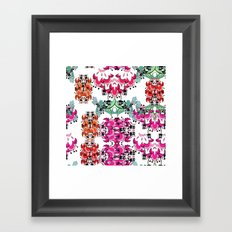 another flower Framed Art Print