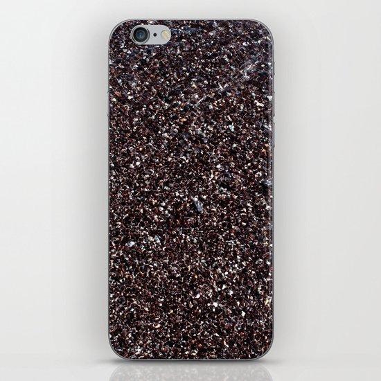 Black Sand IV (Red) iPhone & iPod Skin