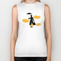 mary poppins Biker Tanks featuring Mary Poppins by FilmsQuiz