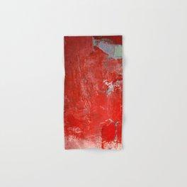 Red Hand & Bath Towel