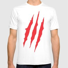 Claws Mens Fitted Tee White MEDIUM