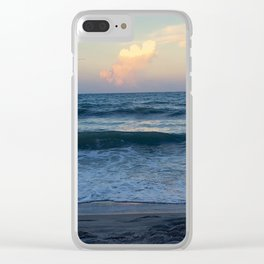 Evening Stroll Clear iPhone Case