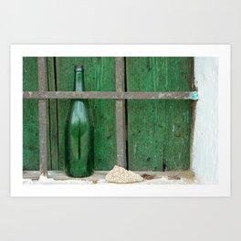 Empty Bottle Art Print