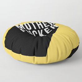 MOTHER FUCKER | Digital Art Floor Pillow