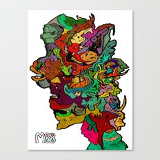 All For One Canvas Print