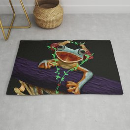 Frog Friend Rug