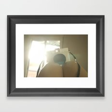 My baby Diana Framed Art Print