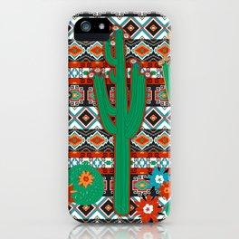 Southwest Cactus iPhone Case