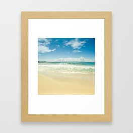 Kapalua Beach Honokahua Maui Hawaii Framed Art Print