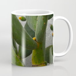 Artsy Cactus Flowers Coffee Mug