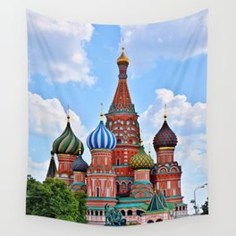 St. Basil's Cathedral (color) Wall Tapestry