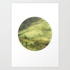 Shapes Of The Future: I Art Print