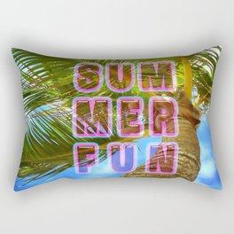 summer fun Rectangular Pillow