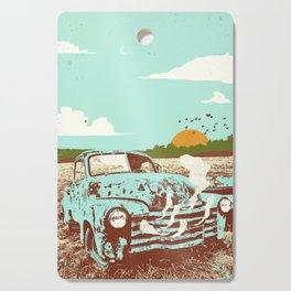 OLD TRUCK Cutting Board