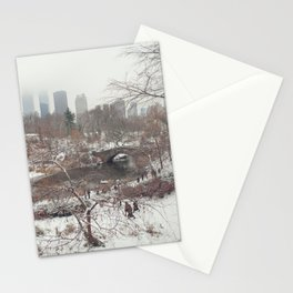 Central Park Winter Stationery Cards