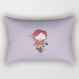 Fight Like a Girl | Lilith - Borderlands Rectangular Pillow
