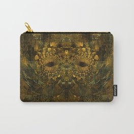 Metallic Mask  Carry-All Pouch