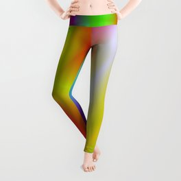 A very beautiful product in rainbow colors! Perfect for people who love colorful Leggings