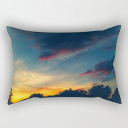 Muted Sunset Rectangular Pillow