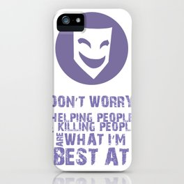 What I'm Best At V2 iPhone Case