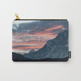 Sunset in the himalayas. Carry-All Pouch