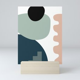 Shape study #18 - Stackable Collection Mini Art Print